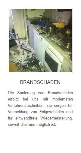 Brandschaden in  Delingsdorf